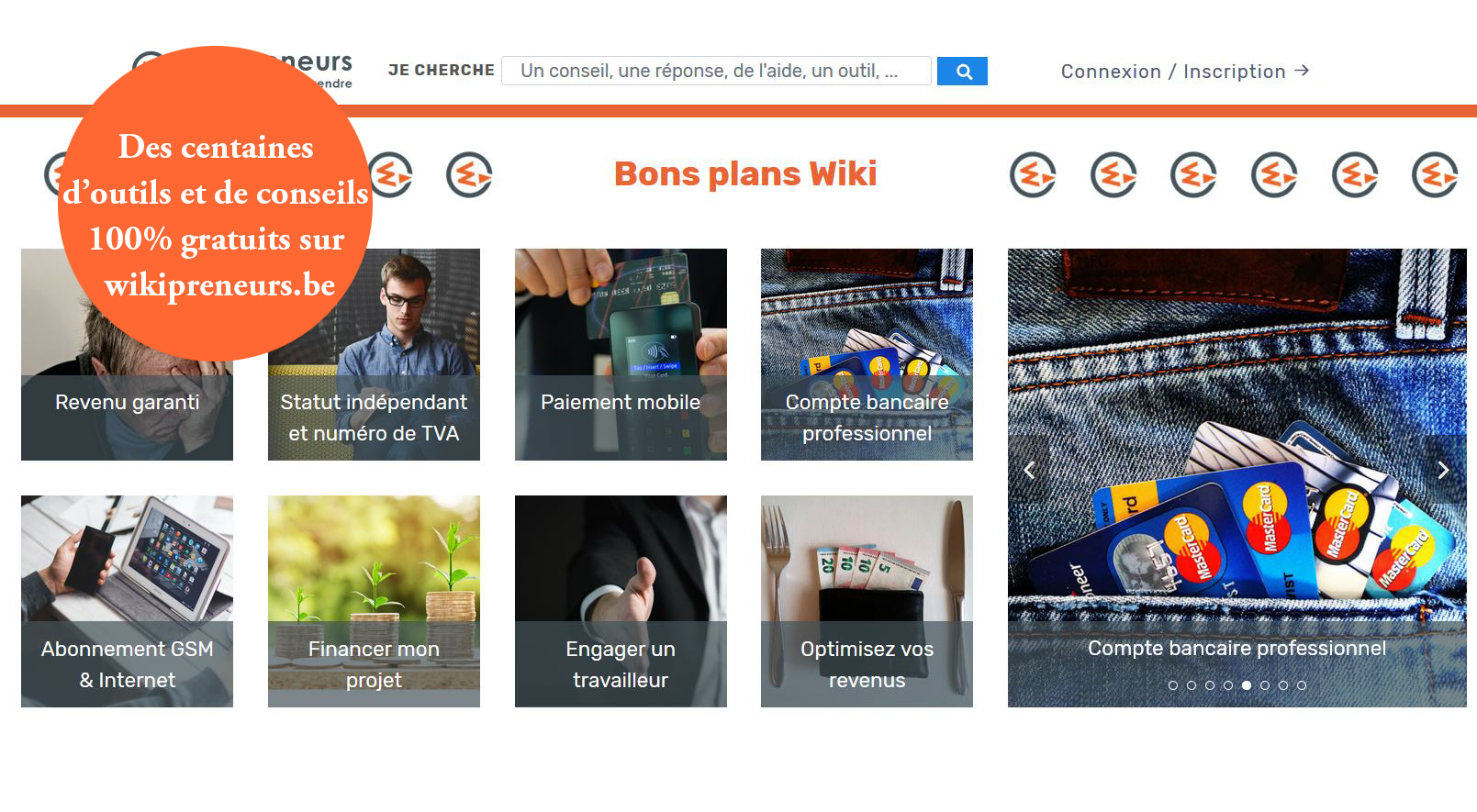 Wikipreneurs.be